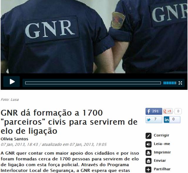 GNR forma civis