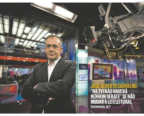 José Alberto de Carvalho Publico recorte