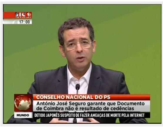 SEguro documento de Coimbra