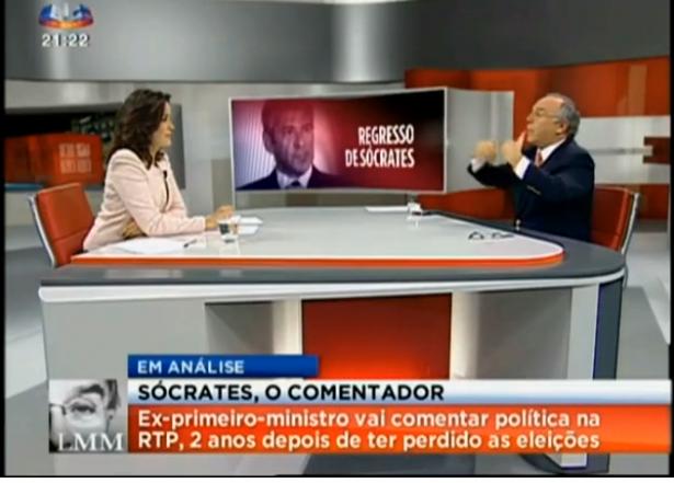 Marques Mendes SIC sobre Sócrates