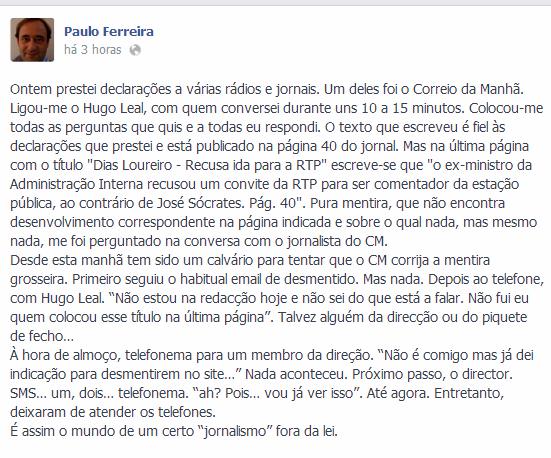 Paulo Ferreira FB
