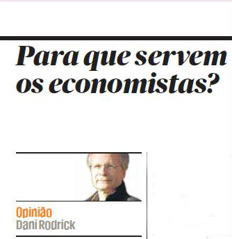 para q servem os economistas Público 19 Maio 2013