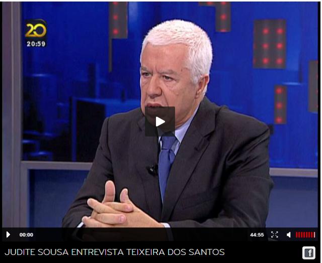 Teixeira dos Santos TVI