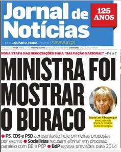 Jornal de notícias 17 Julho 2013