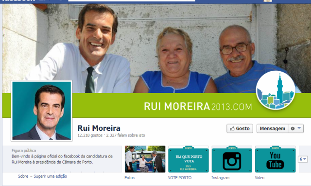 Autárquicas FB Rui Moreira