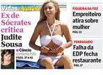 capa CM recorte ex de Sócrates contra Judite de Sousa