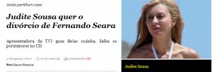 Judire de Sousa quer o divórcio