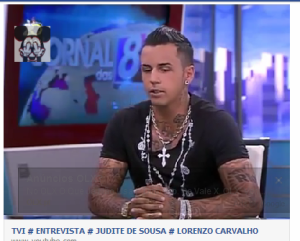 Lorenzo entrevista TVI