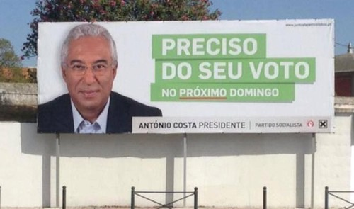Cartaz António Costa