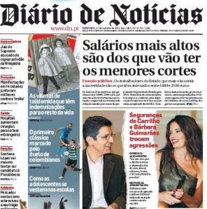 Carrilho e Bárbara DiarioNoticias