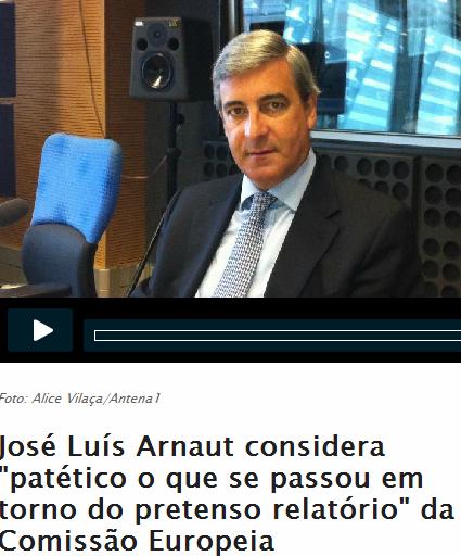 José Luís Arnaut Antena 1
