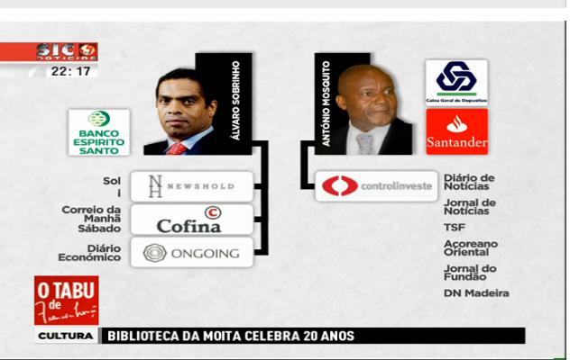 angola nos media portugueses