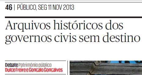 Arquivos dos governos civis