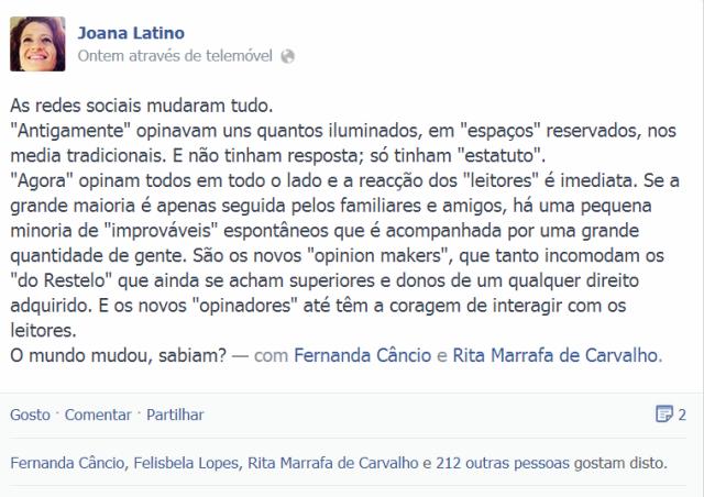 Joana Latino FB