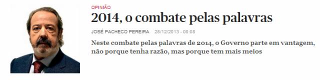 Pacheco Pereira jornalistas de economia