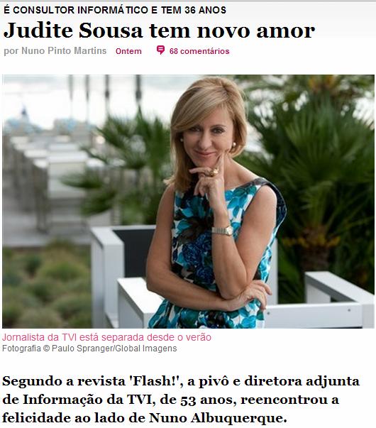 Judite de Sousa tem novo amor