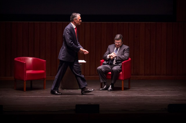 Barroso e Cavaco Gulbenkian