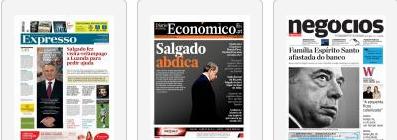 BES  capas 21 Junho 2014 semanários