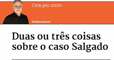 Nicolau Santos e o BES