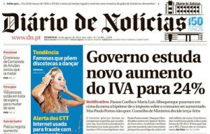 DN capa aumento do IVA