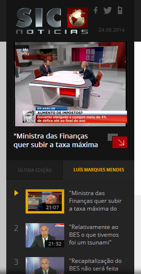 Marques Mendes aumento do IVA