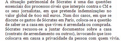 Sócrates casa Paris CM