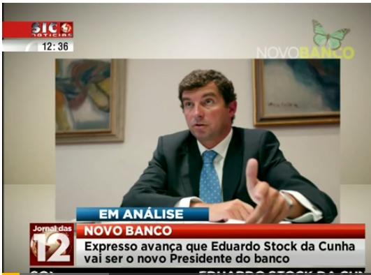 Eduardo Stock da Cunha Novo banco