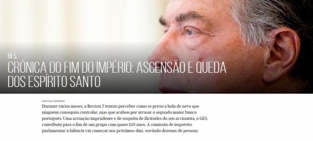 BES por Cristina Ferreira