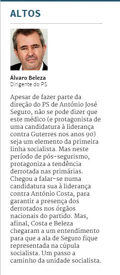 Álvaro Beleza Expresso Altos