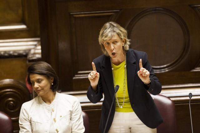 Maria Luís Albuquerque no caso BES