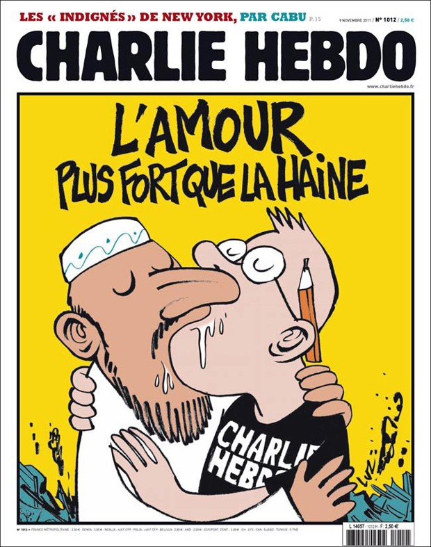 Charlie pós atentado