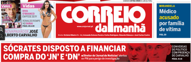 CM Sócrates quis comprar DN e JN 17 Jan 2015