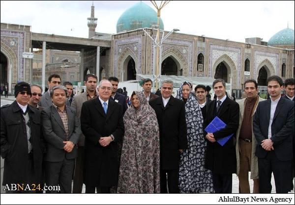 Comitiva do MNE no Irão