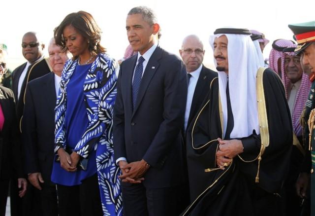 Michelle Obama na Arabia