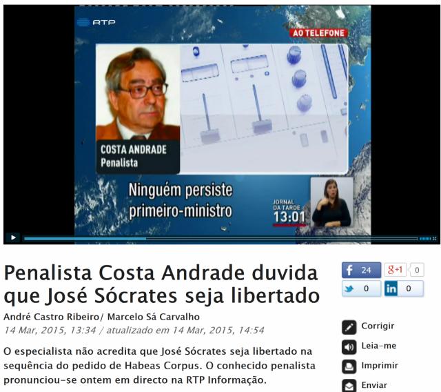 Costa Andrade RTP
