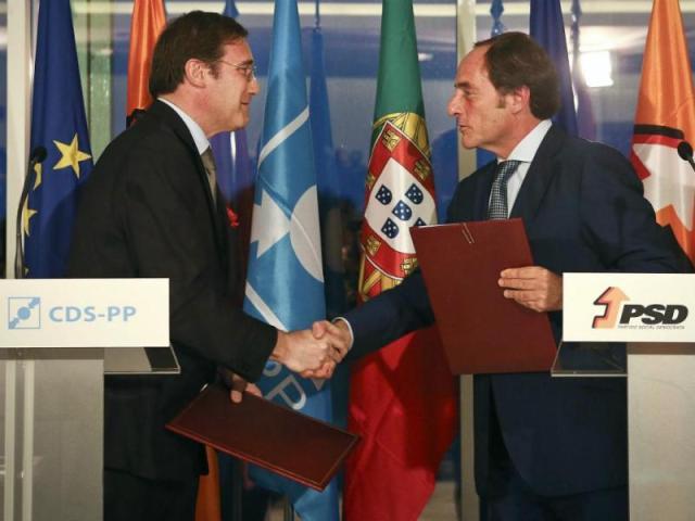 coligação PSD CDS