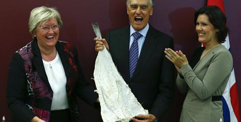 Cavaco Silva visita a Noruega