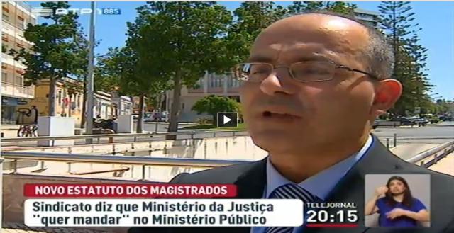 RTP Ventinhas procurador acusa ministra