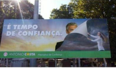 Cartaz PS Sócrates