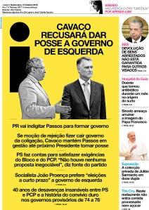 i capa 20151015_Jornal_i