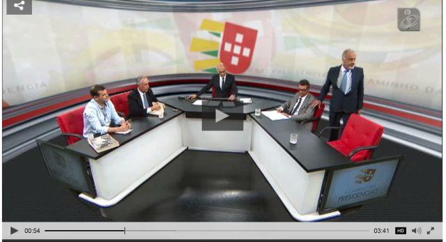 Debate TVI candidatos presidenciais