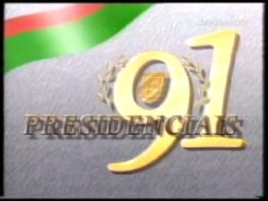 presidenciais 91 logo rtp