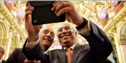 Marcelo e Costa selfie 10 Junho 2016 2