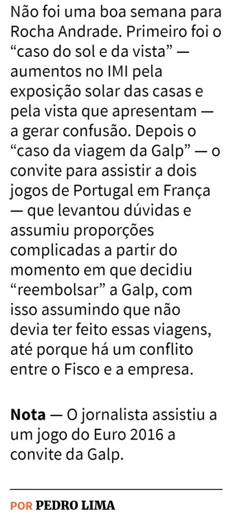 Expresso.caderno Economia. 06/08/2016