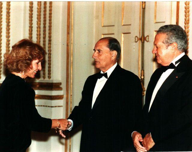 1989, Palácio do Eliseu, visita de Estado a França