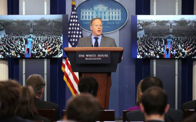 porta-voz da Casa Branca, Sean Spicer